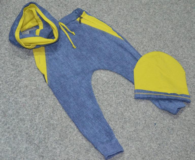 616d745c7 Pudlové tepláky pre deti Melm riflovo-olivové dlhé 80-152 | Melm Fashion