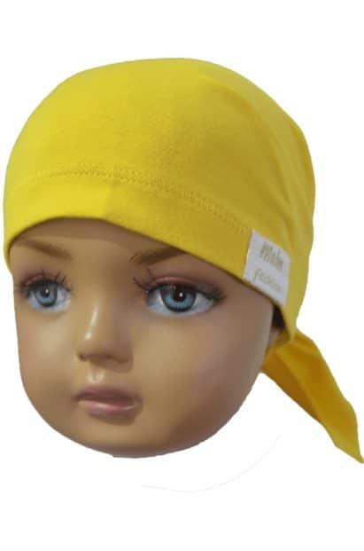 Detská šatka Melm žltá