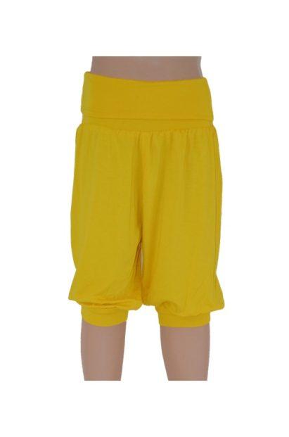Detské háremky Melm krátke žlté